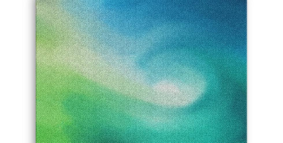 """Into The Blue XIV"" Canvas Print"
