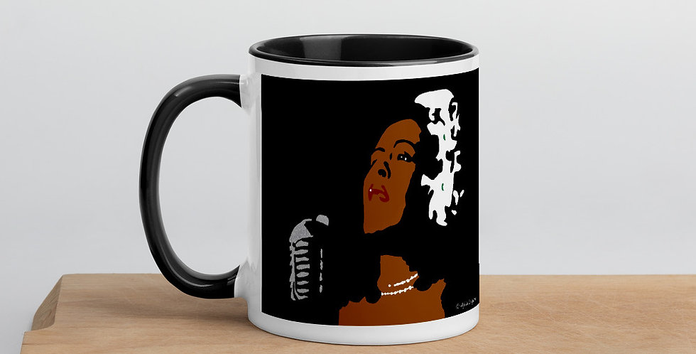 """Lady II (Jazzed)"" Coffee Mug"