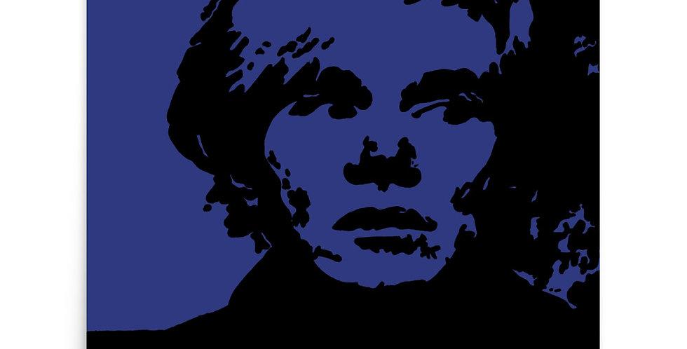 """""""Warhol (Midnight)"""" Art Print"""