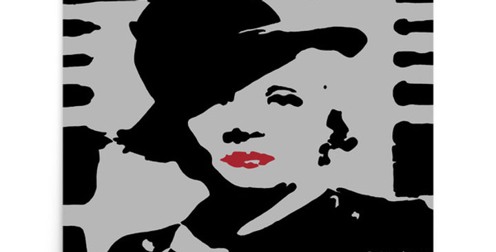 """""""Marlene II (Silver Screen)"""" Art Print"""