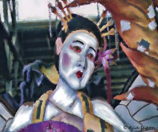 Mardi Gras Geisha