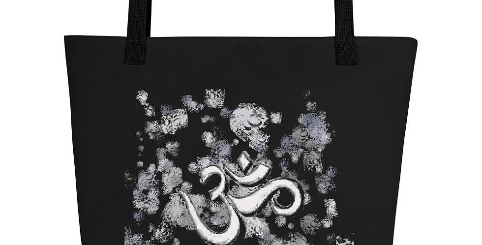 """Om (Graffiti)"" Tote Bag"