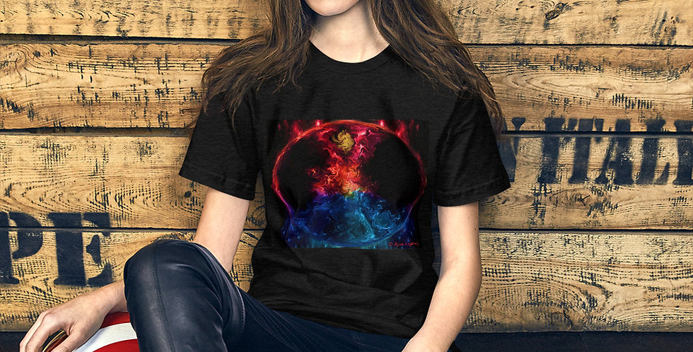 """Fire & Ice II"" Unisex T-Shirt"