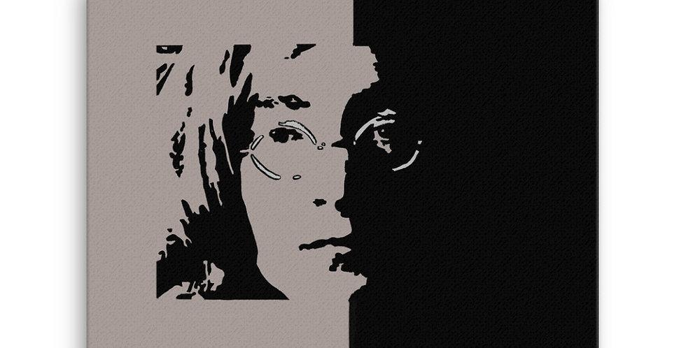 """Lennon II (Shadow)"" Canvas Print"