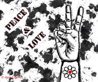 Peace & Love (Graffiti)