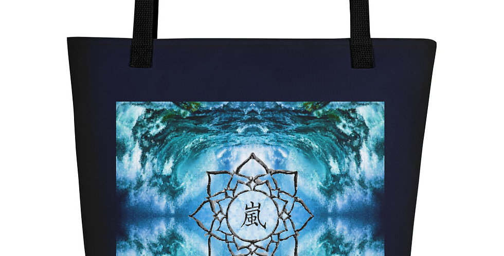 """Storm (Lotus)"" Tote Bag"