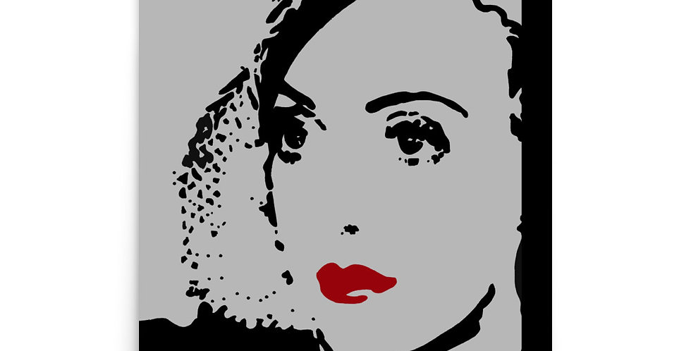 """Bette (Silver Screen)"" Art Print"