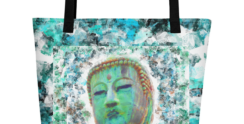 """Buddha (Weathered)"" Tote Bag"