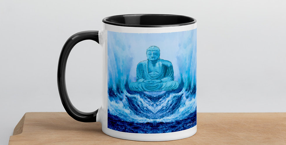 """Buddha Wave"" Coffee Mug"