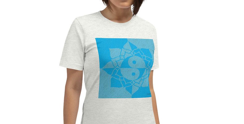 """""""Yin-Yang Lotus (Aquatic)"""" Unisex T-Shirt"""