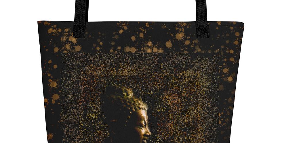 """Bronze Buddha"" Tote Bag"