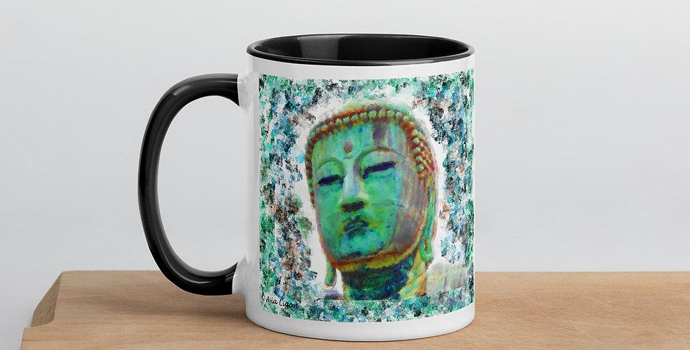 """Buddha (Weathered)"" Coffee Mug"