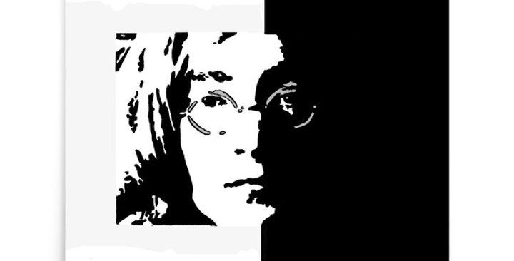 """Lennon II"" Art Print"