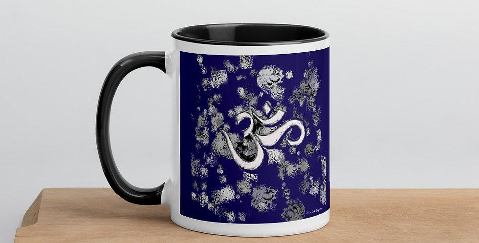 """Om (Blue Graffiti)"" Coffee Mug"