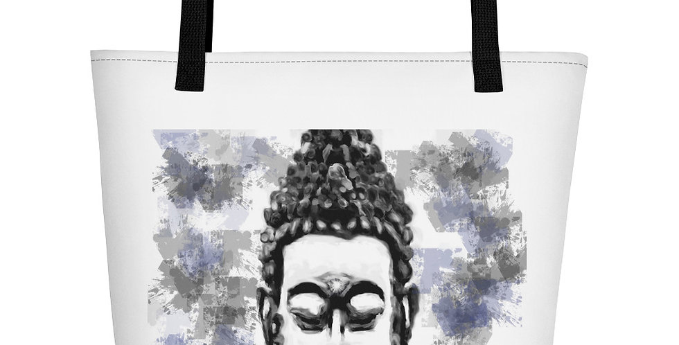 """Buddha (Splatter)"" Tote Bag"