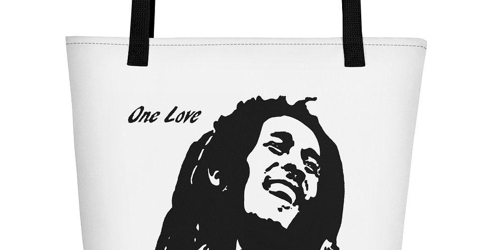 """One Love"" Tote Bag"