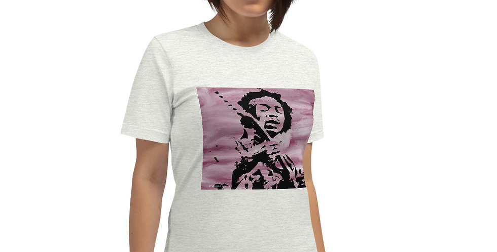 """Jimi (Purple Haze)"" Unisex T-Shirt"