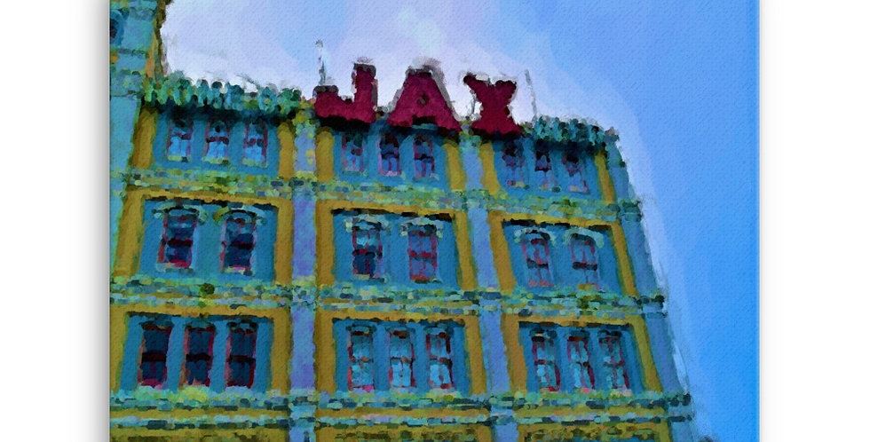 """JAX"" Canvas Print"