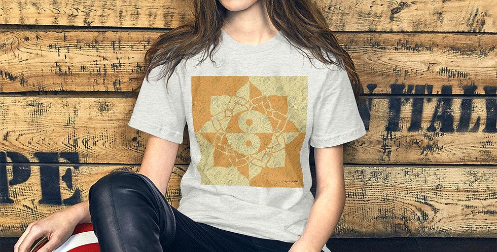 """""""Yin-Yang Lotus (Gilded)"""" Unisex T-Shirt"""