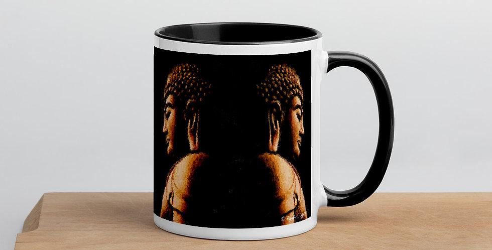 """""""Buddha Mirror (Metallic)"""" Coffee Mug"""