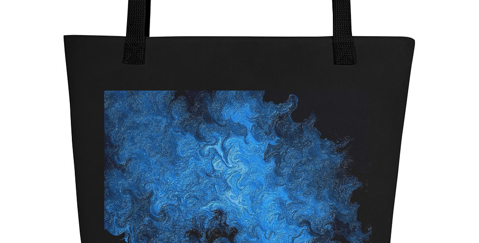 """Abstract Flame IV"" Tote Bag"