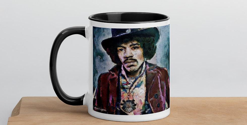 """""""Jimi (Vivid)"""" Coffee Mug"""