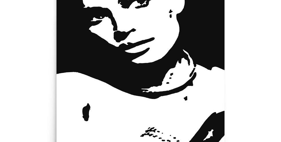 """Carre"" Art Print"