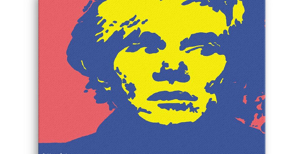 """""""Warhol (Pop) II"""" Canvas Print"""