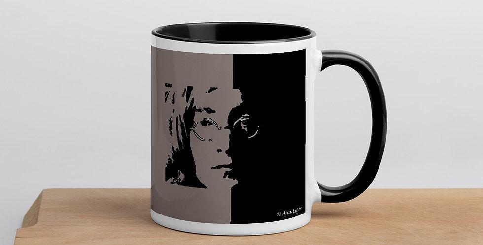 """""""Lennon II (Shadow)"""" Coffee Mug"""