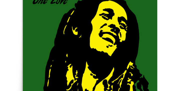"""One Love (Jamaica)"" Art Print"