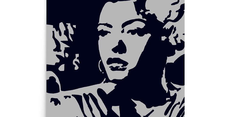 """Lady (Blues)"" Art Print"