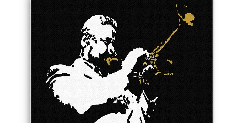 """""""Dizzy (Jazzed)"""" Canvas Print"""