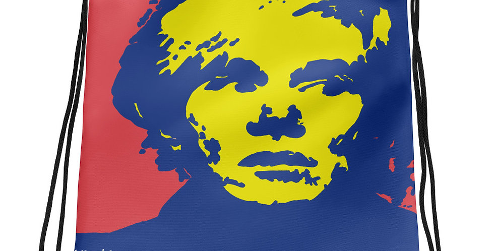 """Warhol (Pop) II"" Drawstring Bag"