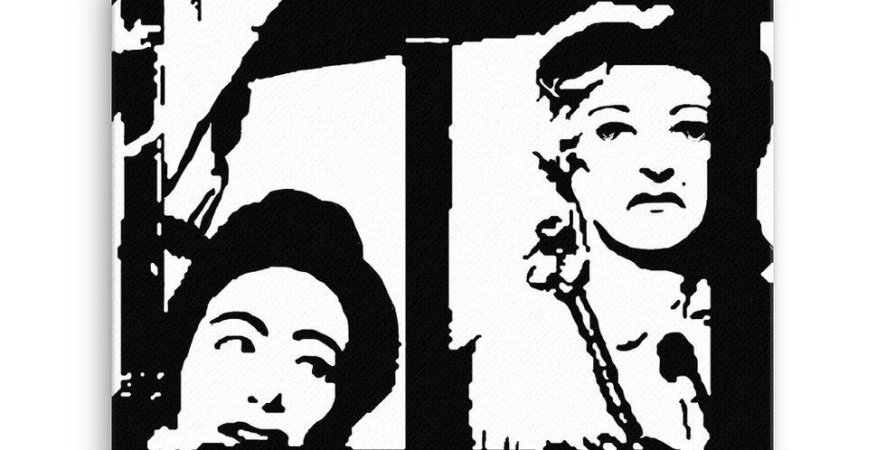 """Blanche & Jane"" Canvas Print"