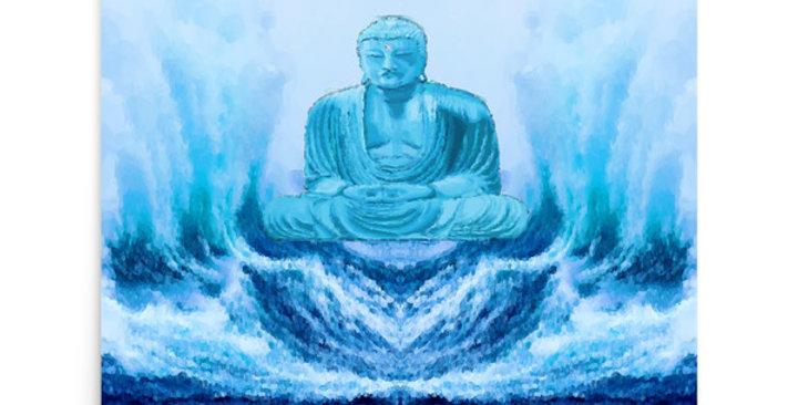 """Buddha Wave"" Art Print"