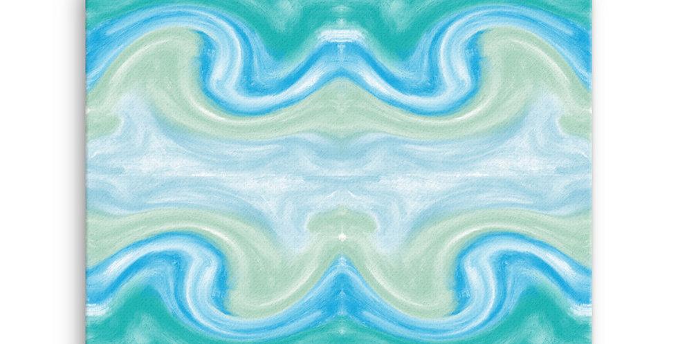 """""""Into The Blue VI"""" Canvas Print"""