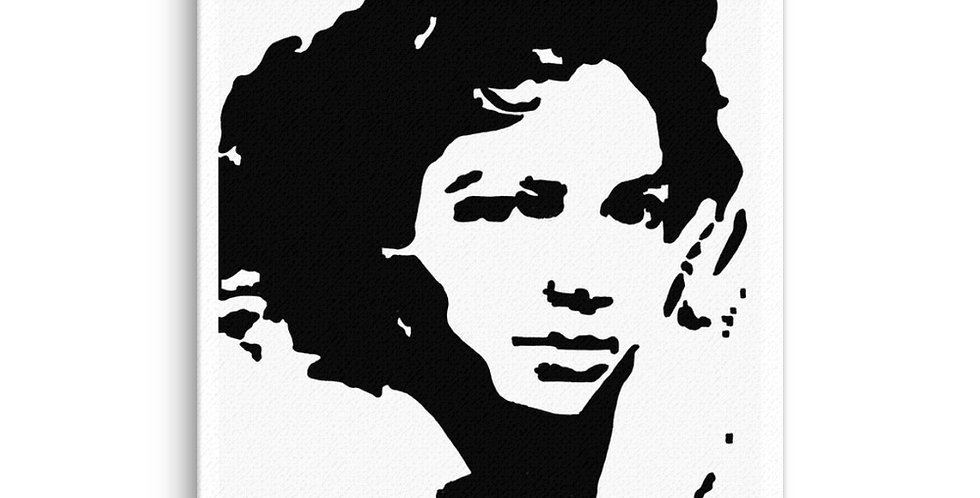 """Ms. Dandridge"" Canvas Print"