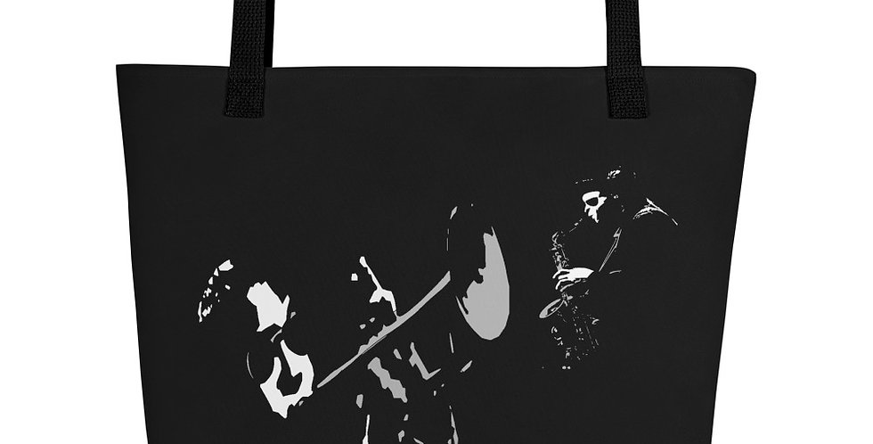 """Jazzed"" Tote Bag"
