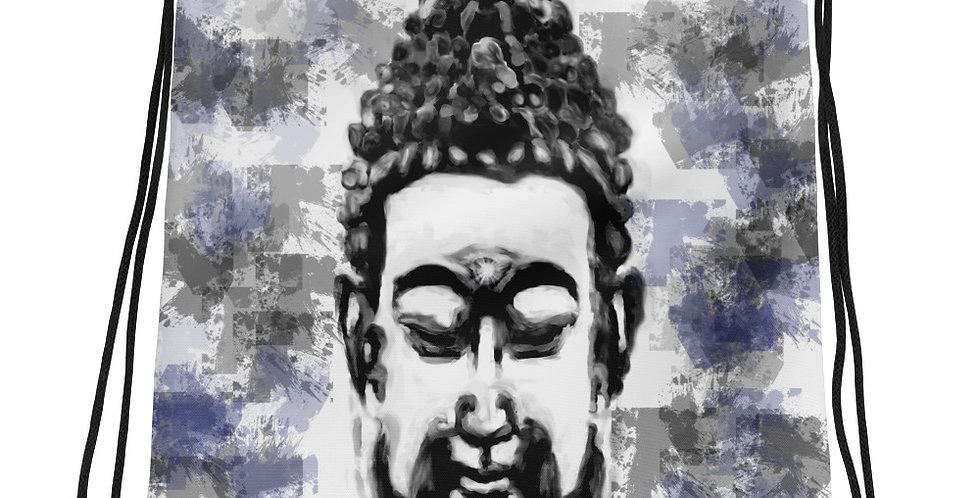 """""""Buddha (Splatter)"""" Drawstring Bag"""