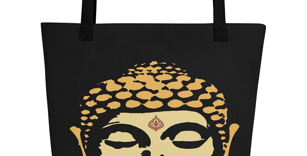 """Double Buddha"" Tote Bag"
