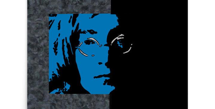 """""""Lennon II (Midnight)"""" Art Print"""