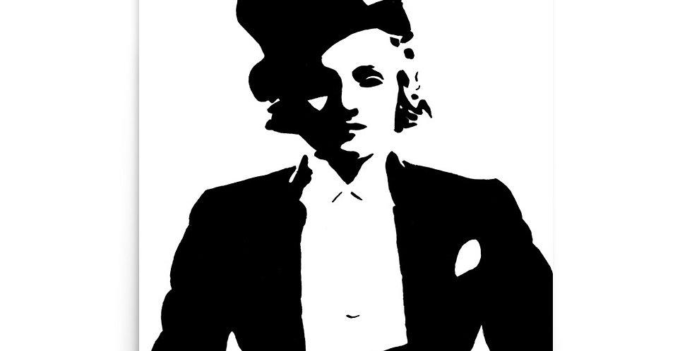 """Marlene"" Art Print"