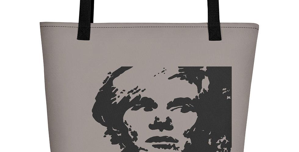 """""""Warhol (Shades Of Grey)"""" Tote Bag"""