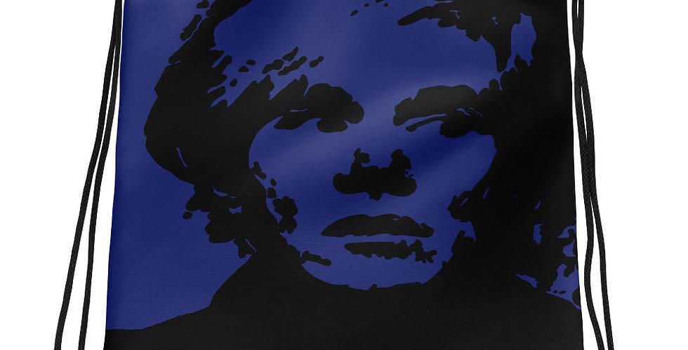 """Warhol (Midnight)"" Drawstring Bag"
