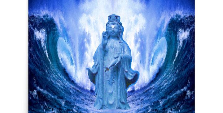 """Buddha Wave III"" Art Print"