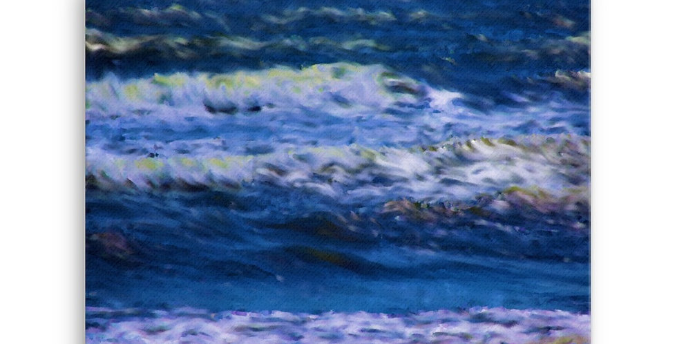 """""""Into The Blue II"""" Canvas Print"""