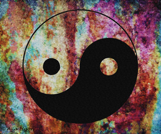 Yin-Yang (Abstract Graffiti)