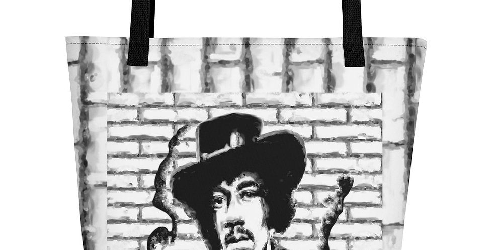 """Jimi (Graffiti)"" Tote Bag"