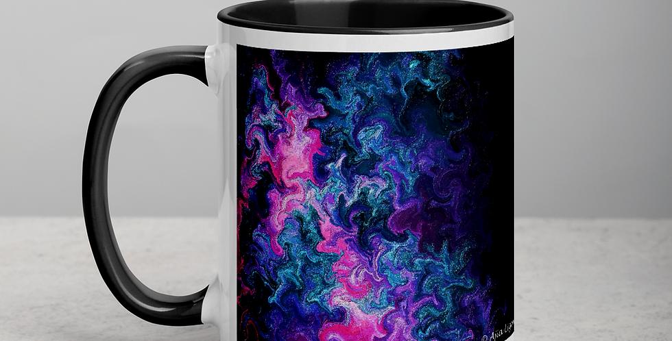"""Abstract Flame II"" Coffee Mug"