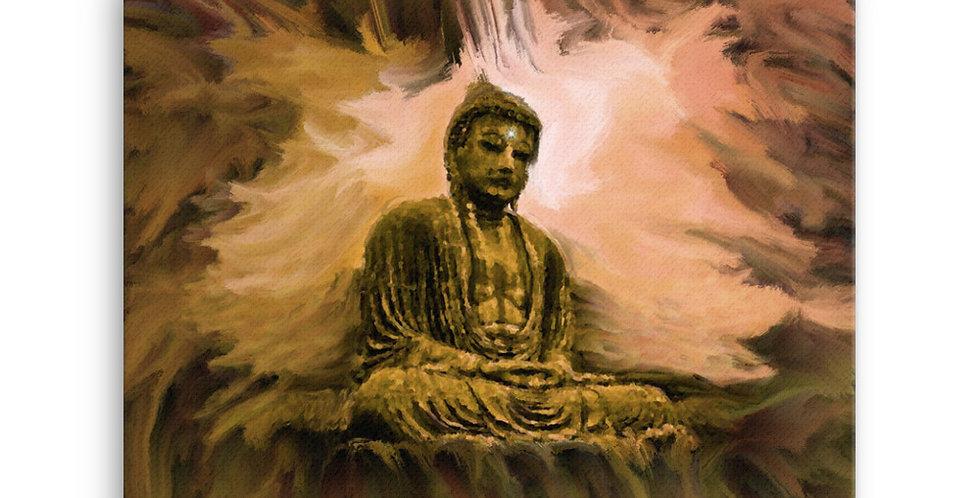 """""""Buddha Aura""""Canvas Print"""